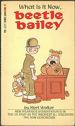 What Is It Now, Beetle Bailey by Mort Walker