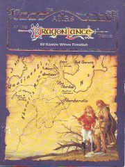 The Atlas of the Dragonlance World by Karen Wynn Fonstad