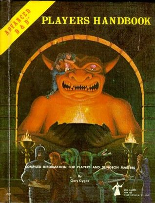 Players Handbook by Gary Gygax