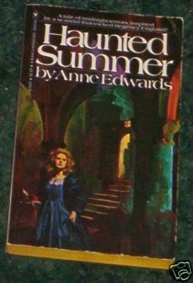 Haunted Summer by Anne Edwards