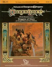 Dragons of Glory (Dragonlance Module DL 11) (Advanced Dungeons & Dragons)