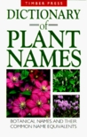 Dictionary Of Plant Names