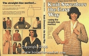 Knit Sweaters the Easy Way--Using the Straight-Line Method