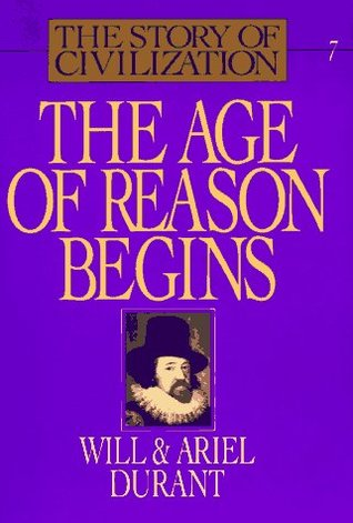 The Age of Reason Begins by Will Durant