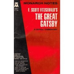 F. Scott Fitzgerald's the Great Gatsby (Monarch Notes)