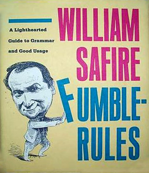Fumblerules by William Safire