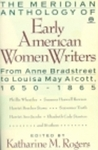 Early American Women Writers, The Meridian Anthology of: 1650-1853
