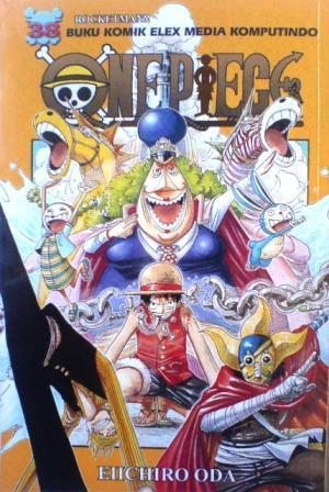 One Piece 38 by Eiichiro Oda
