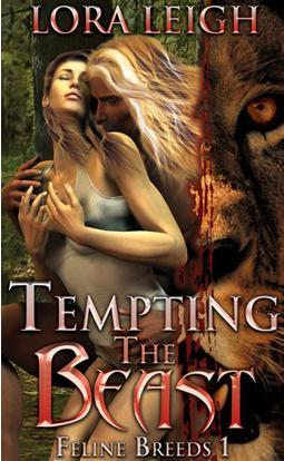 Tempting the Beast (Breeds #1)  - Lora Leigh
