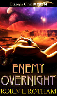Enemy Overnight by Robin L. Rotham