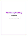 A Hathaway Wedding (The Hathaways, #2.5)