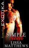 Simple Need by Lissa Matthews