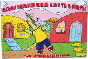 Benny Brontosaurus Goes to a Party by L. Farnsworth