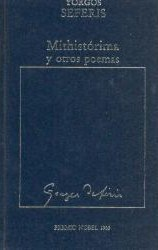 Mithistórima y otros poemas by George Seferis