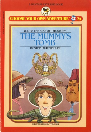 The Mummy's Tomb by Stephanie Spinner