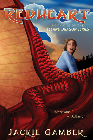 Redheart (Leland Dragon Series, #1) by Jackie Gamber