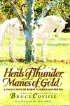 Herds of Thunder, Manes of Gold by Bruce Coville