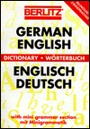 German English Dictionary by Berlitz Publishing Company