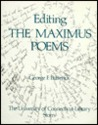 Editing the Maximus Poems: Supplementary Notes