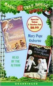 Magic Tree House: Books 7 & 8: Sunset of the Sabertooth, Midnight on the Moon