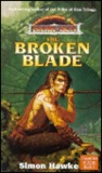 The Broken Blade by Simon Hawke