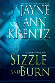 Sizzle and Burn (Arcane Society, # 3)