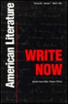 Write Now: American Literature in the 1980s and 1990s