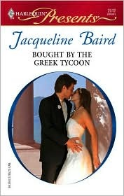 Bought By The Greek Tycoon by Jacqueline Baird