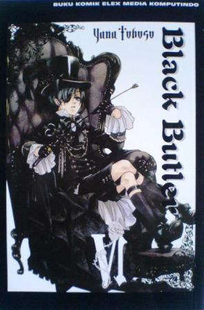 Black Butler, Vol. 6 by Yana Toboso