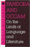 Pandora and OCCAM: On the Limits of Language and Literature