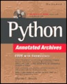 Python Annotated Achives [With CDROM]