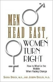 Men Head East, Women Turn Right by Sabra E. Brock