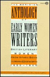 Early Women Writers, The Meridian Anthology of by Katherine M. Rogers
