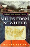 Miles from Nowhere by Dayton Duncan