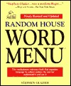 Random House Word Menu by Stephen Glazier