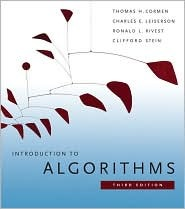Introduction to Algorithms by Thomas H. Cormen