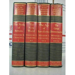 A History of the English Speaking Peoples, 4 Vols by Winston Churchill