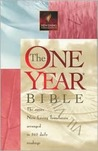 New Living Translation - One Year Bible