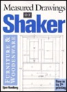 Measured Drawings of Shaker Furniture,Wooden Ware
