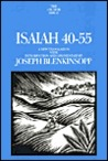 Isaiah 40-55: A New Translation with Introduction and Commentary (Anchor Bible)