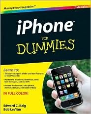 iPhone For Dummies (For Dummies by Edward C. Baig