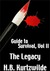 The Legacy (Guide to Survival, #2)