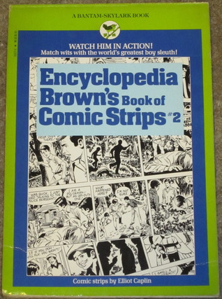 Encyclopedia Brown's Book of Comic Strips #2