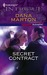 Secret Contract (Mission: Redemption #1) (Harlequin Intrigue #985)