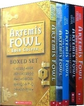Artemis Fowl Boxed Set, Bks 1-5 by Eoin Colfer