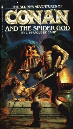 Conan and the Spider God by L. Sprague de Camp