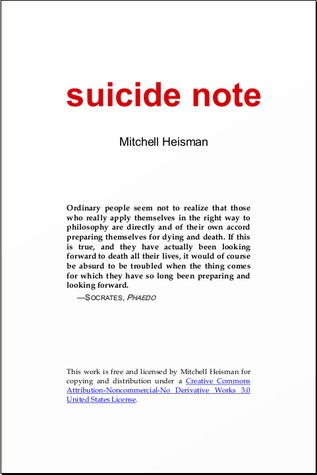 Sad Suicide Notes Suicide note   183  other editionsReally Sad Suicide Notes