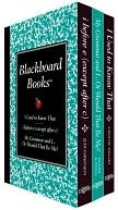 Blackboard Books Boxed Set: I Used to Know That, My Grammar and I... Or Should That Be Me, and I Before E (Except After C)