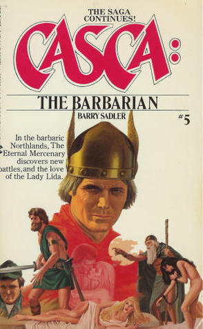 The Barbarian (Casca, #5)