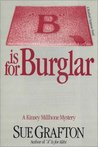 B is for Burglar (Kinsey Millhone #2)